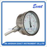 Полируя термометр термометра промышленный - биметаллический термометр