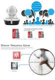 Detector PIR de la cámara del IP de la alarma de la seguridad del sensor externo del soporte y teledirigido de humos
