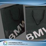 Мешок несущей бумаги Brown Kraft упаковывая для одежд подарка покупкы (XC-bgg-009)