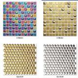 Seis azulejos del mosaico del oro de Hexigon