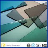 3-12 mm claro Azul Verde Gris Bronce Ford tintado de color azul y vidrio flotado cristal tintado