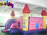 カボチャカートが付いているCastle Inflatable王女の跳躍のベッド