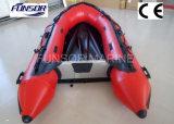 Inflable de goma Motor Barco con Airmat Floor (FWS-A290)