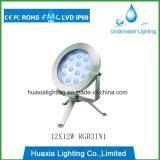 316ss Luz subaquática de luz de iluminação LED com tripé