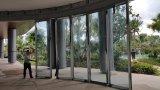 Arc стеклянной стеной раздел для гостиницы
