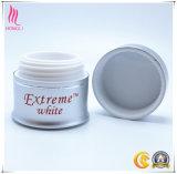 Crema di alluminio elegante Jar&#160 di vendita calda; per imballaggio cosmetico