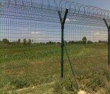 Rete fissa saldata aeroporto della rete metallica/rete fissa filo del rasoio