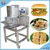 Het industriële Automatische Pasteitje die van de Hamburger van Buddget van de Hamburger van het Vlees Vormende Machine maken