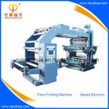 Automatische flexographische Papierrollendrucken-Hochgeschwindigkeitsmaschine