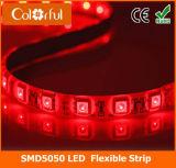Tira caliente de la luz de DC12V SMD5050 LED impermeable