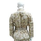 Рвать-Остановите форму боя армии пустыни 65%Cotton и 35%Polyester