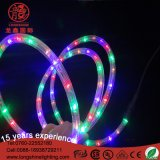 LED imperméable à l'eau 3 fils 110V / 220V 100m / Roll LED Decoratioveled Rope Strip Light