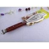 3 Все в 1 SS304 высокого качества для барбекю Тонг деревянным шпателем вилочного захвата