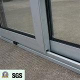 Ventana de desplazamiento de aluminio de la rotura termal revestida del polvo de la buena calidad K01064