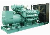 Motor diesel de tres fases V12 Diesel Genset 1500 kVA