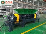 Triturador de eixo duplo para reciclagem de sucata