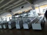 PVCプロフィールのラミネーションの屋内形成ライン装飾的な木工業の包む機械