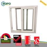Schiebendes Fenster der Doppelverglasung-UPVC