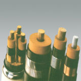 Geïsoleerdb pvc van de Leider van het koper en het In de schede steken de Kabel van de Macht 3X50mm2
