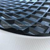 Haut de page Checker antidérapant PVC pour la vente de la courroie du convoyeur