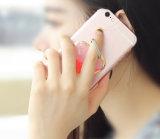 Роскошное цветастое высокое качество конструкции гальванизирует PC Kickstand кольца крышку случая телефона наградного заднего нового всеобщую на iPhone 7 7 добавочных