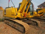 Verwendeter Gleisketten-Exkavator KOMATSU-PC160-7, Japan bildete