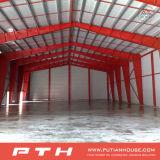 Almacén de la estructura de acero con tamaño y estilo modificados para requisitos particulares