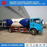 Het beste verkoopt de Goedkope Bobtail van LPG van het Propaan van de Vrachtwagens van de Tanker van de Weg van LPG van Kosten 4X2 voor het Vullen van Gasflessen