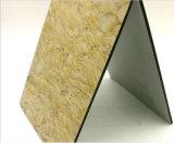 3мм PE покрытие алюминиевых композитных панелей для магазина и художественное оформление станции