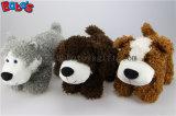 """Venta al por mayor de 10"""" lindo perro animales de peluche juguete con Rosa Cojin corazon Bos1165"""