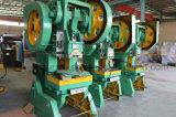 Máquina de perfuração mecânica da série quente da venda J23 para o processo de carimbo frio