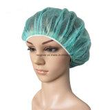 Quirúrgica desechable Bouffant Nonwoven Tapa Tapa redonda