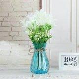 De kleurrijke Houseware Vaas van de Ambacht van het Glas voor de Decoratie van het Huis