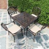 中国からの椅子を食事する一定の鋳造アルミを食事する旧式な再生の屋外の家具