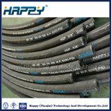 Fr 856 4sp la haute pression sur le fil en caoutchouc en spirale flexible hydraulique