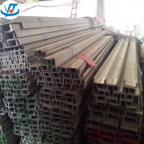 Barra laminada a alta temperatura da calha de aço 304 inoxidável com 120X53mm