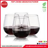FDAの公認の頑丈な粉砕防止Stemlessワイングラス