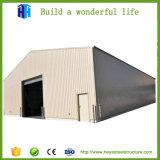 Estrutura de aço prefabricados Prédio da Oficina de depósito de material de construção de coberturas