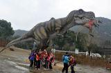 2017 de Populairste Avontuurlijke Dinosaurus van het Park