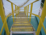 Le PRF/GRP Pultruded grincement Flooring escaliers