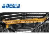 30 toneladas grúa de puente doble montada sobre carriles de viga de 50 toneladas