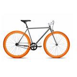 Bicicleta de engrenagem fixa da cidade de 2016 com quadro de alumínio