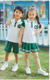 Estudiante de moda personalizada uniforme escolar para el invierno y verano