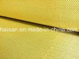 Cor amarela 1000mm de largura, Bd Tecidos de aramida para produtos finais