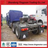 10 de Vrachtwagen van de Tractor van wielen HOWO voor Afrika