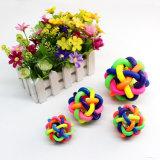 Pelota colorida con Bell Perro Productos Toy Poodle Toy Pet