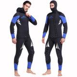 terno de mergulho do neopreno de 5mm para o Wetsuit de &7mm dos homens