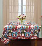 mantel sólido del telar jacquar 100%Polyester con las servilletas