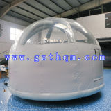 Outdoor Camping Transparent Inflatable Bubble Room / PVC Inflatable Bubble Tent