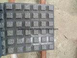 Grauer Granit-Tastpflasterung, blinde Steinstraßenbetoniermaschine für blinde Leute